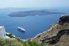 Santorini, Vulkaninseln
