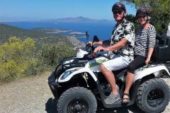 Quad-Fahrt auf Poros